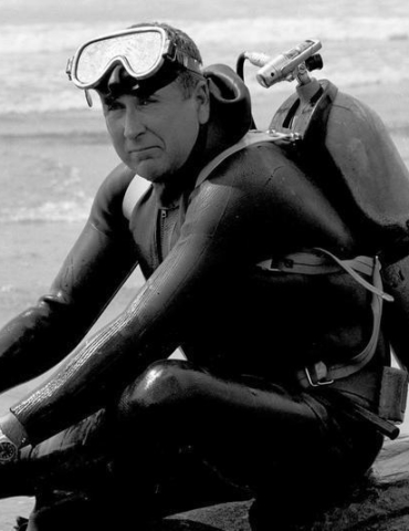 Who Was Envelope Pushing Diver James Stewart?