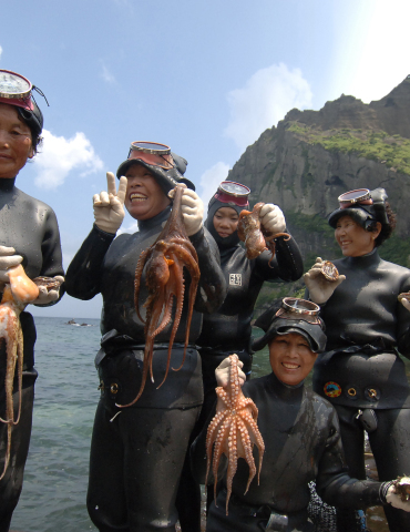The Sea Women of Jeju