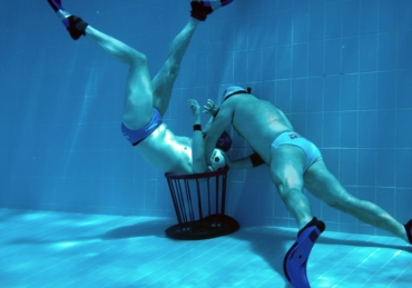 The Art of Underwater Rugby