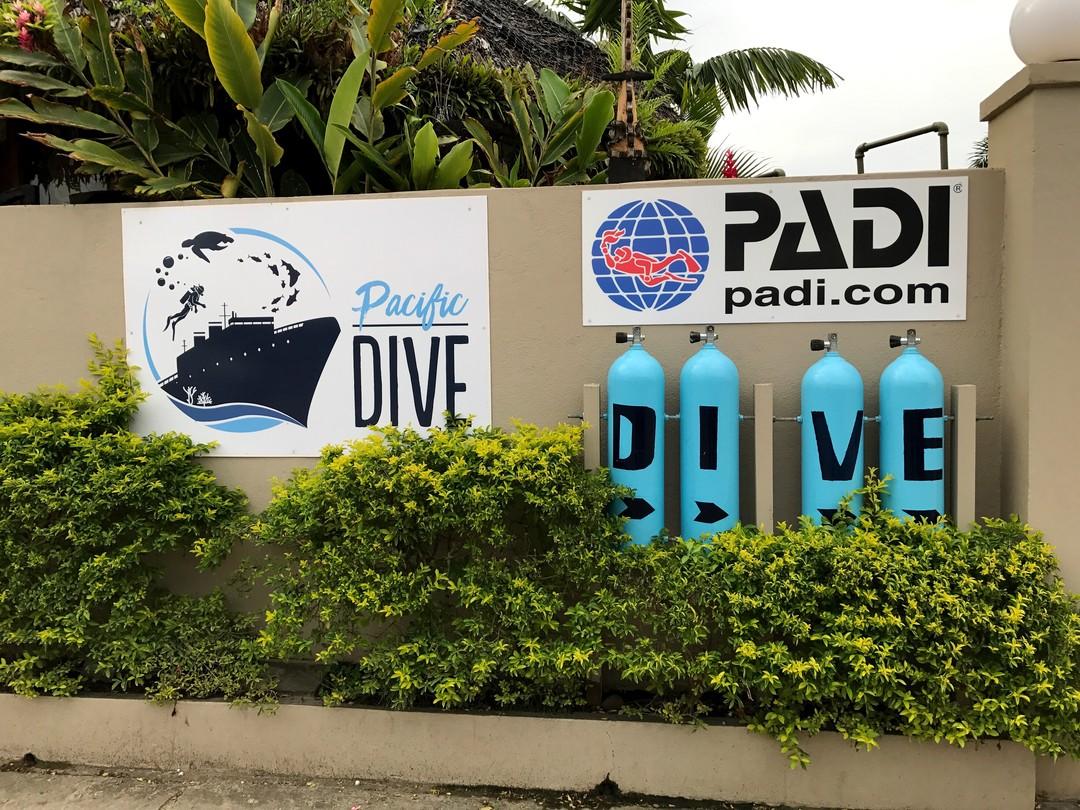 Pacific-dive