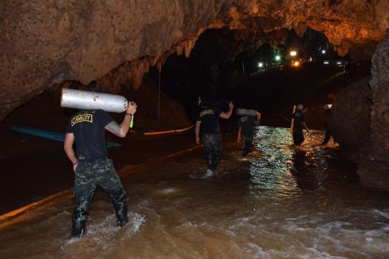 Rescue in Thailand