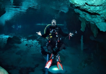 Hip-Hop Legend Big Tigger Shares His Love for Scuba Diving