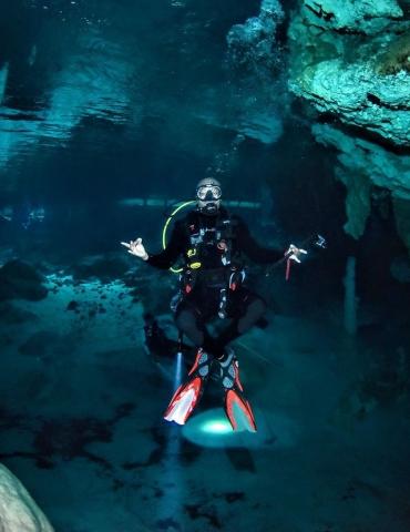Hip-Hop Legend Big Tigger Shares His Love for Scuba Diving