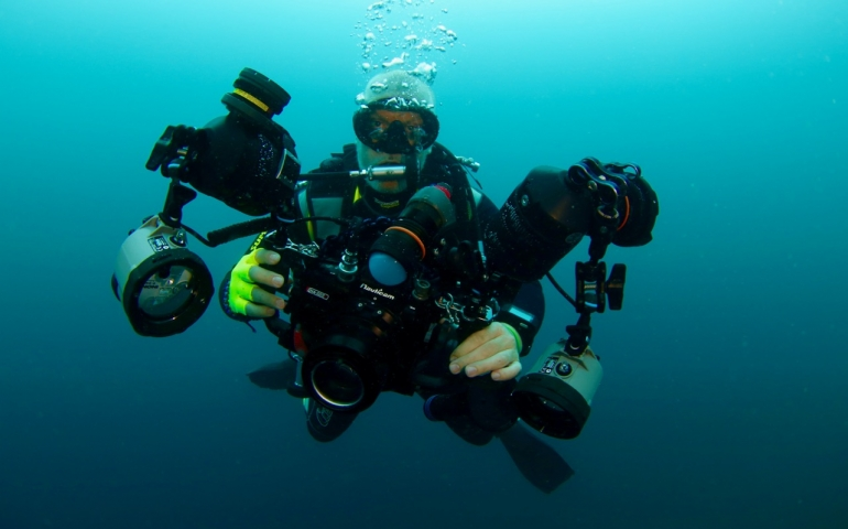 Doing Scuba Digital: Marino Palla of Scubashooters